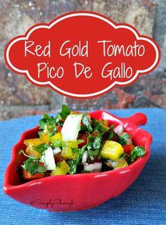 Red Gold Tomato Pico De Gallo