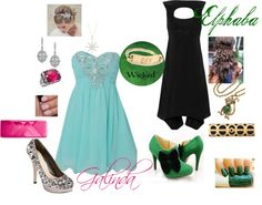"""""""WICKED: Elphaba and Galinda"""" by katy-lynn-patterson on Polyvore"""