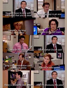 """Toby is the instruction card you throw away! Lmao!"