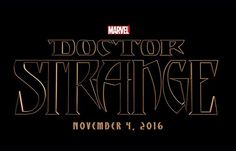 "A new super hero is about to enter the Marvel Cinematic Universe. Production has started on a ""Doctor Strange"" movie which will hit theaters on Nov 4 2016."