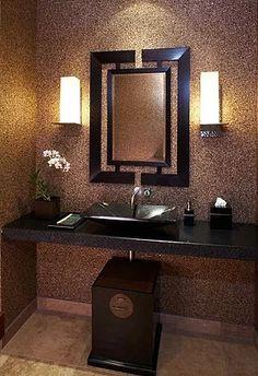 Elegant Burgundy Bathroom Beautiful Bathrooms Pinterest - Burgundy bathroom decor for small bathroom ideas