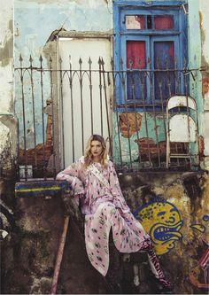 Vogue Australia September 2016 - Lily Donaldson - Sebastian Kim
