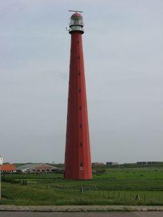 """Vuurtoren """"lange Jaap"""" Noord-holland Den Helder"""
