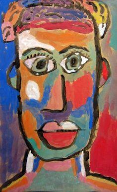 Artsonia Art Museum (Cedar Creek)  Matisse Inspired Portraits