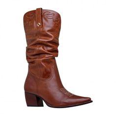 0c650e650dfc1 Shoes   calçados Bota Bota feminina eunice carmim tan marrom - Carmim Store