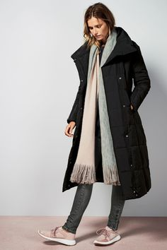 Black Long Duvet Jacket From The Next Uk Online