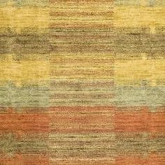 Hand-knotted Himalayan Southwest Multi-colored Wool Rug (2'3 x 8')