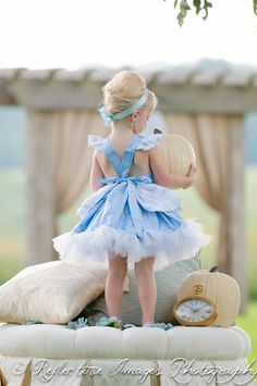 Cinderella costume Blue Princess Halloween by FairytaleJubilee