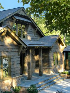 Love the siding. Houzz: Lake House Design, Pictures, Remodel, Decor and Ideas - page 45