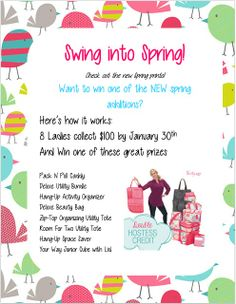 Thirty-One Swing into Spring