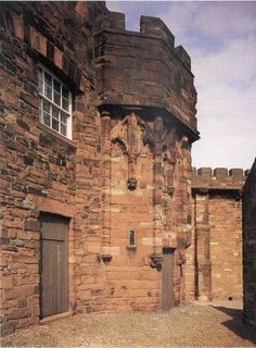 Queen Mary's Tower, in which Mary, Queen of Scots was imprisoned, is one of the oldest parts of the castle. Scotland Map, Scotland History, England And Scotland, Edinburgh Scotland, Map Of Britain, Great Britain, Mary Queen Of Scots, Queen Mary, Carlisle Castle