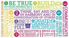 Over het formuleren van kernwaarden, deze doorleven, impact op de organisatiecultuur van happiness.