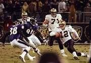 Who here remembers when Jake Delhomme played for the New Orleans Saints? Jake had played in the NFL-Europe League before joining the Saints as a back-up in 1999. He led the Saints to big upset that year over Dallas, passing for 2 touchdowns and running for another. By 2002, many fans were clamoring to bench starter Aaron Brooks and give Jake a chance to play. When Jake relieved an injured Brooks in the second half against Baltimore and played well enough to secure a win the ...