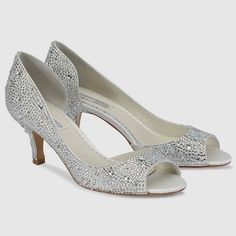 52392077ac0b 40 Low Heel Silver Wedding Shoes for Your Stunning Style