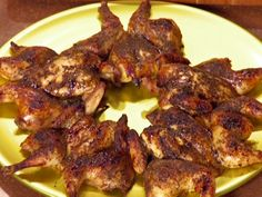 Orange Balsamic Rock Cornish Game Hens
