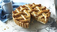 BBC - Food - Recipes : Mary Berry's treacle tart with woven lattice top