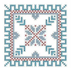 Celtic Cross Stitch, Biscornu Cross Stitch, Cross Stitch Charts, Cross Stitch Designs, Cross Stitch Embroidery, Cross Stitch Patterns, Swedish Weaving, Cross Stitching, Needlework