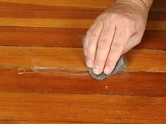 how to get scratches out of hardwood floors...have a feeling I will need this in the future