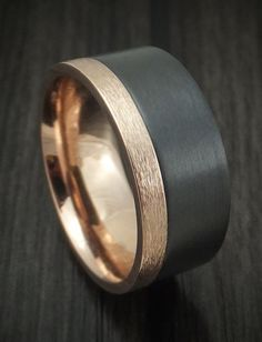 Titanium Ring with Mokume and Meteorite Custom. Best Online Shopping Sites, Mens Gadgets, Titanium Rings, Shopping Spree, Watches For Men, Rings For Men, Band, Bracelet, Accessories
