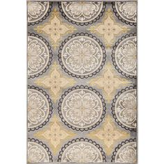 Christopher Knight Home Paris Citron Pena Silver Area Rug (5' x 7'6) - Overstock™ Shopping - Great Deals on Christopher Knight Home 5x8 - 6x9 Rugs