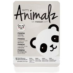 Panda Animal Face Mask ($5.42) ❤ liked on Polyvore featuring beauty products, skincare, face care, face masks, blossom perfume, moisturizing face mask, flower perfume, hydrating facial mask and facial mask