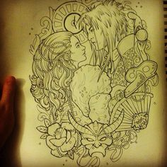 Love this, it would make an amazing tattoo