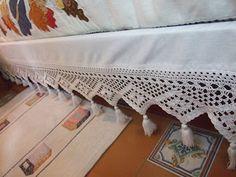 Mi pequeño mundo Patchwork: Crochet cubre somier