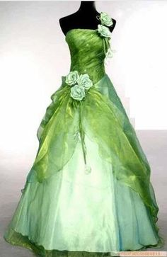 Elegant Hot Evening Gown Prom Ball Wedding veil Dress Green SIZE 6 8 10 12 14 16