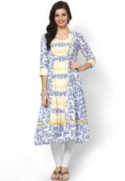 Sangria Blue Kurtis & Kurtas Online Shopping Store