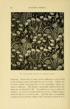 Pattern Design A Book For Students Treating In A Practical Way Of The Anatomy Planning Evolution Of Repeated Ornament Nen  C B Public Domain At