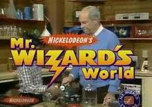 Mr. Wizard!! 80's tv show on Nickelodeon