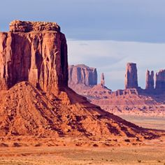 Monument Valley Navajo Tribal Park   Arizona, Utah  Monument Valley Tribal Park, part of the Navajo Nation, occupies more than 91,000 acres, most of it in Arizona. The Navajo welcome visitors and offer riding tours of the mesas and buttes. You'll also encounter traditional Navajo food, arts, and crafts. This is some of the world's most photogenic topography, so many of the rock formations, like the Mitten, may look oddly familiar. Travel writer Michael Schuman.