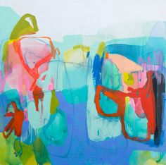 """Claire Desjardins, Parts and Plans, Acrylic on Canvas, 60"""" x 60"""""""