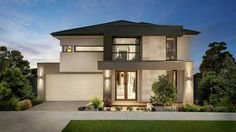 Carlisle Homes offer award-winning new homes in and around Melbourne. Choose the best home design and find out more about our home & land packages today! Tropical House Design, Best Modern House Design, Residential Architecture, Modern Architecture, Building Architecture, Chinese Architecture, Carlisle Homes, Modern House Facades, Modern Houses