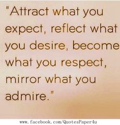 Become what you respect | Inspirational #Quotes