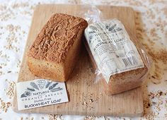 Yeast Free Organic Buckwheat and Rice Flour Loaf (Gluten Free)