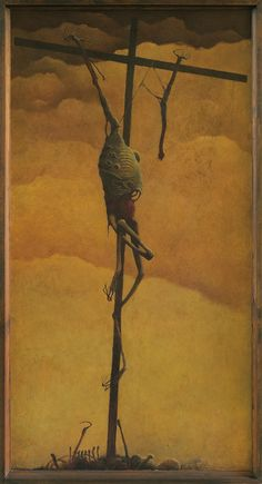 Zdzisław Beksiński - I really can't say why I like his work. It's disturbing, yes. But, I believe art should create some kind of emotional impact on the viewer and his work definitely accomplishes that