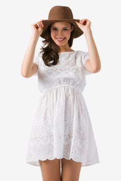 Seashore Eyelet Dress