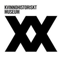 Grafisk form för Kvinnohistoriskt museum i Umeå.