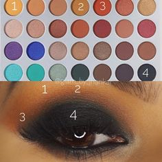 a pictorial for my previous look. ⬇️ is a detailed breakdown. DETAILS Prepped my eyes using soft ocher paint… Eyeshadow Tips, Blending Eyeshadow, How To Apply Eyeshadow, Eyeshadow Looks, Eyeshadow Makeup, Eyeshadows, Eyeshadow Tutorials, Makeup Geek, Diy Makeup