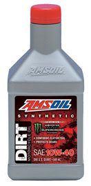 Synthetic SAE 10W-40 Dirt Bike Oil