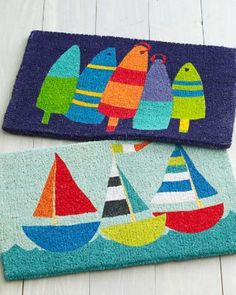 Doormats by @Hable Construction  #nautical