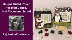 Unique Sided Treat Pouch for Mug Cakes, Hot Cocoa and More! - YouTube