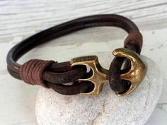 Hey, I found this really awesome Etsy listing at https://www.etsy.com/listing/478098386/anchor-bracelet-mens-leather-bracelet
