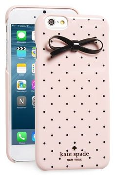 kate spade new york 'gold dot & bow' iPhone 6 & 6s case available at #Nordstrom