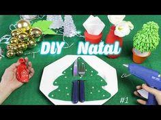 ESPECIAL NATAL #4: DIY ÁRVORES DE NATAL (com bala, Eva e balão) | Buba Balão - YouTube