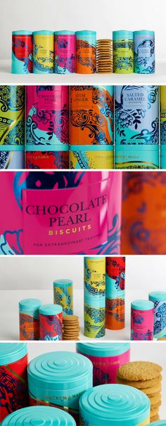 Fortnum & Mason's Biscuits Redesigned by Design Bridge