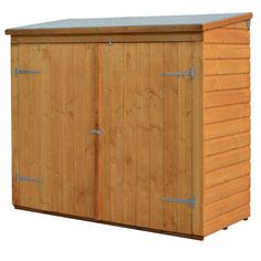 Outdoor Living Today Cabana 9 Ft. W x 6 Ft. D Wood Garden Shed & Reviews | Wayfair