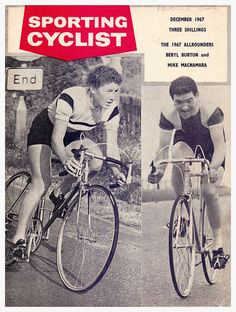 Beryl Burton and Mike Macnamara, Sporting Cyclist, December 1967. | Flickr - Photo Sharing!
