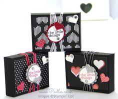 Stampin' Up! UK Valentine's Envelope Punch Board Box Tutorial